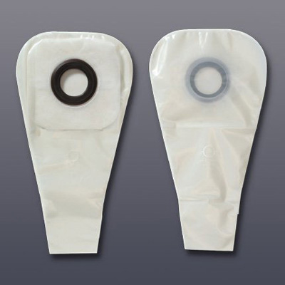 Karaya 5 Ostomy Pouch One-Piece System 1.5 x 12 in 1-1/4 in Stoma Drainable Integral Covexity