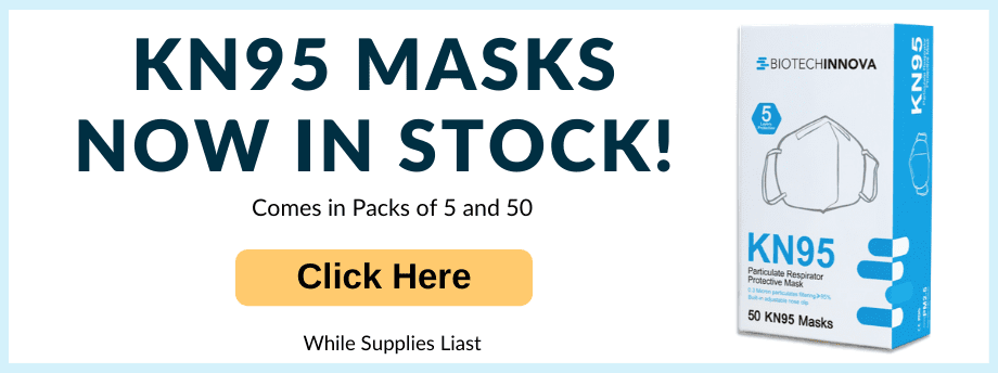 KN95 PPE Face Masks Now In Stock!