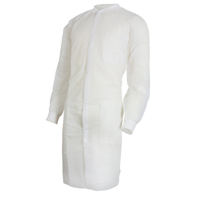 Lab Coat McKesson White Large to X-Large Long Sleeves Knee Length