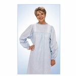 Lady Lace Patient Exam Gown One Size Fits Most Female Pink Rosebud Print