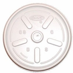 Dart Vented Lid, Plastic White - Case of 1000