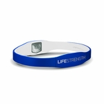 LifeStrength Pure Series Bracelet - X-Small - Blue/White Model # 6620 - 3 pack