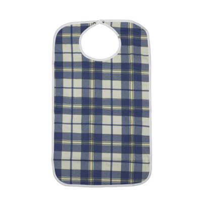 Drive Medical Lifestyle Flannel Bib rtl9102