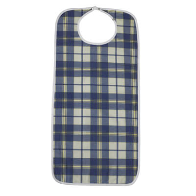 Drive Medical Lifestyle Flannel Bib rtl9103