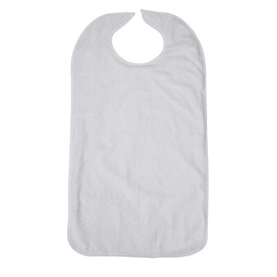 Drive Medical Lifestyle Terry Towel Bib rtl9104
