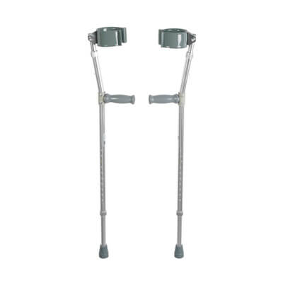 Drive Medical Lightweight Adult Walking Forearm Crutches 10403
