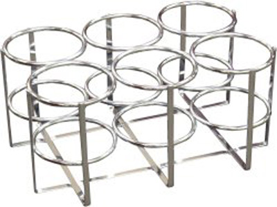 Drive Oxygen Cylinder Rack Size M6 Chrome Plated Steel