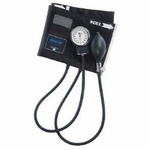 MABIS Legacy Aneroid Sphygmomanometer Pocket Style Hand Held 2-Tube Large Adult Arm
