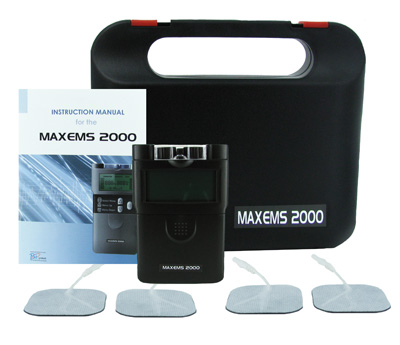Bio Protech MaxEMS 2000 Dual Channel Digital EMS Unit DYMAXEMS2000
