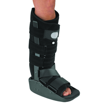MaxTrax Walker Boot Small Hook and Loop Closure Female Size 4.5 - 6 / Male Size up to 5 Left or Right Foot