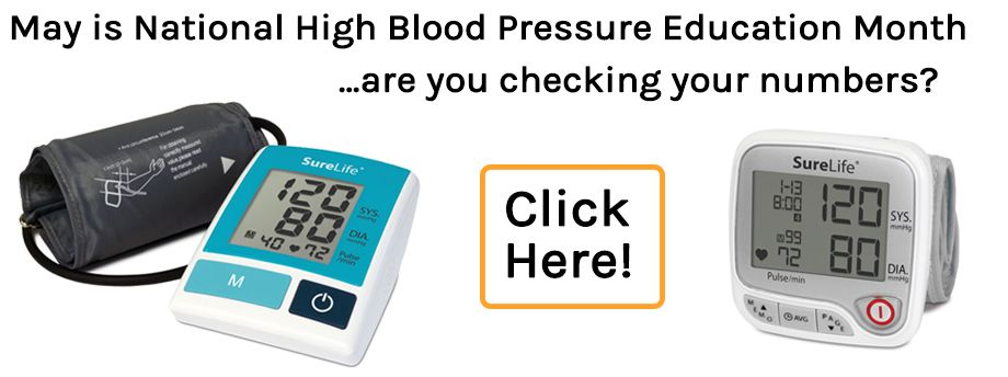 Are you checking your blood pressure