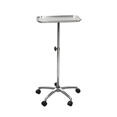 Drive Medical Mayo Instrument Stand with Mobile 5 inch Caster Base Model 13071