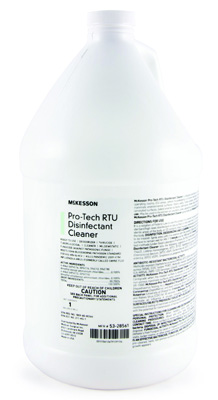 McKesson Pro-Tech Surface Disinfectant Cleaner Alcohol Based Liquid 1 gal. Container