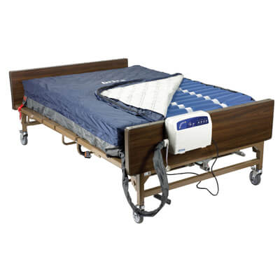Med Aire Bariatric Heavy Duty Low Air Loss Mattress Replacement System Model 14060 - Drive Medical