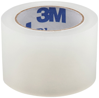3M Medical Tape Blenderm Waterproof Plastic 1 Inch X 5 Yard Transparent NonSterile 1525-1 - Case of 120
