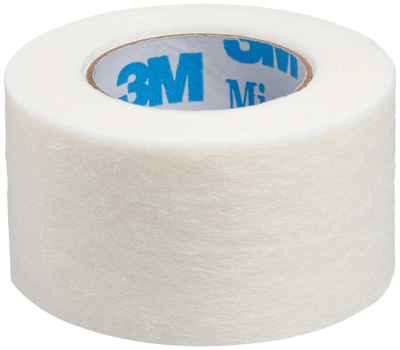 Medical Tape 3M Micropore Skin Friendly Paper 3 Inch X 10 Yard White NonSterile