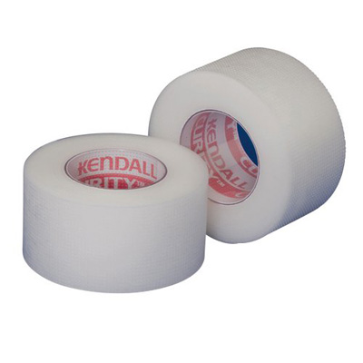 Curity Medical Tape Plastic 1 Inch X 10 Yard Transparent NonSterile - Case of 120