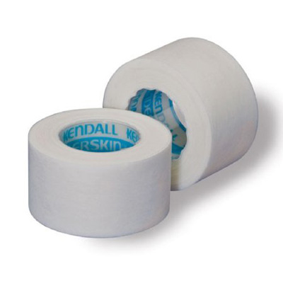 Medical Tape Kendall Hypoallergenic Paper 1/2 Inch X 10 Yard White NonSterile