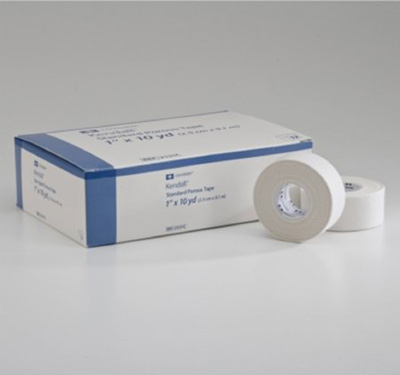 Medical Tape Kendall Hypoallergenic Paper 1 Inch X 10 Yard White NonSterile
