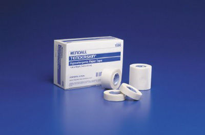 Medical Tape Kendall Hypoallergenic Paper 2 Inch X 10 Yard White NonSterile