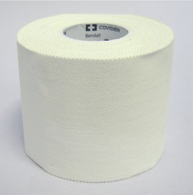 Medical Tape Kendall Waterproof Cloth 2 Inch X 10 Yard White NonSterile