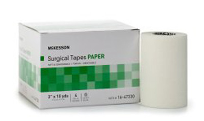 Medical Tape McKesson Paper 3 Inch X 10 Yard White NonSterile