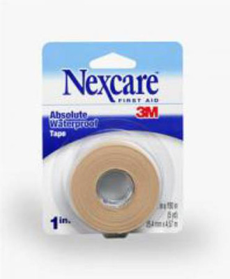 Medical Tape Nexcare Waterproof Foam 1 Inch X 5 Yard Tan NonSterile