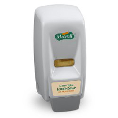 Micrell Soap Dispenser White Plastic 800 mL Wall Mount