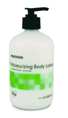 Moisturizer McKesson 18 oz. Pump Bottle Cucumber Melon Scent Lotion