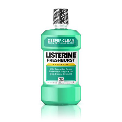 Mouthwash Listerine 500 mL Fresh Mint Flavor
