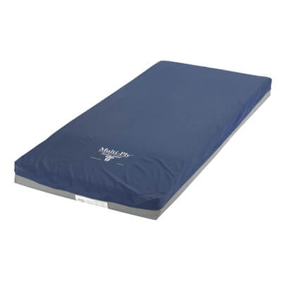 Drive Medical Multi-Ply Dynamic Elite Pressure Redistribution Foam Mattress 76 Inch 6500-de-1-fb