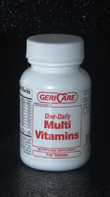 Multivitamin Supplement Geri-Care Tablet 100 per Bottle