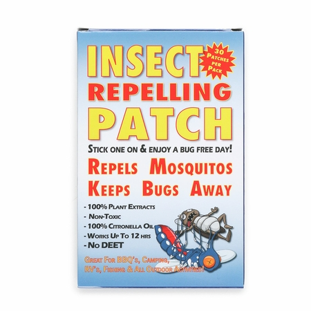 Insect Repelling Patch - 1 Pack of 30 Patches