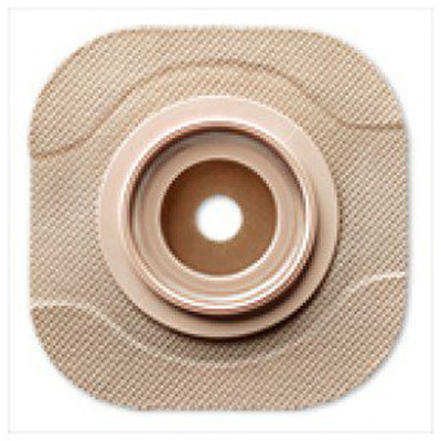 New Image Flat CeraPlus Skin Barrier Cut-to-Fit, Tape Border 2-1/4 in Flange Red