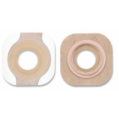 New Image Flextend Colostomy Barrier Pre-Cut, Extended Wear Tape 1-3/4 in Flange Green Code Hydrocolloid 5/8 in Stoma
