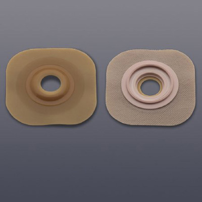 New Image Flextend Colostomy Barrier Pre-Cut, Extended Wear Without Tape 2-1/4 in Flange Red Code Hydrocolloid 1-1/4 in Stoma