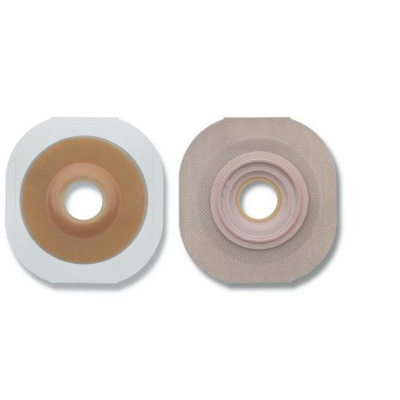 New Image Flextend Skin Barrier Pre-Cut, Extended Wear Tape 1-3/4 in Floating Flange Green Code 5/8 in Stoma