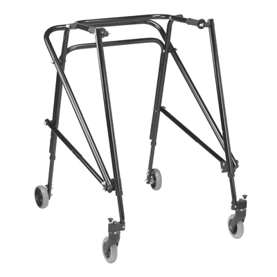 Nimbo 2G Lightweight Posterior Walker Extra Large Emperor Black - Drive Medical - KA5200-2GEB