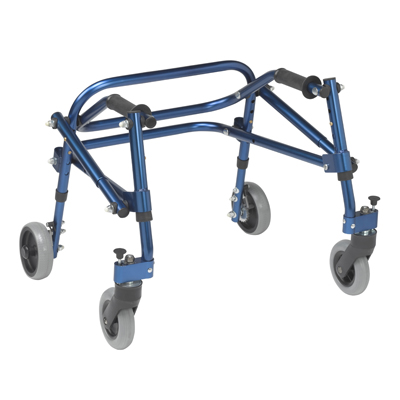 Nimbo 2G Lightweight Posterior Walker Small  Knight Blue - Drive Medical - KA2200-2GKB