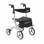 Drive Medical Nitro Euro Style White Rollator Walker Model rtl10266wt