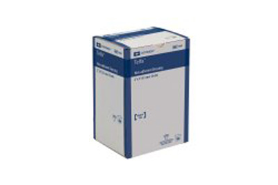 Non-Adherent Dressing TelfaOuchless Cotton 2 X 3 Inch Sterile