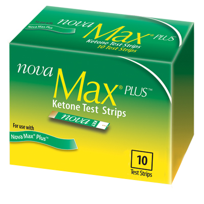 Nova Max® Plus Ketone Strip, 10ct