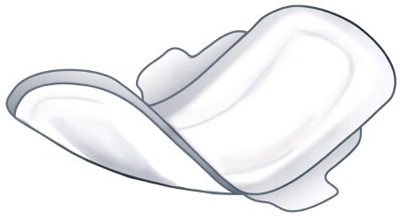 OB / Maternity Pad Versalon Peri-Pad Super Absorbency