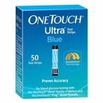 One Touch Ultra Blue Test Strips - 50 Strips