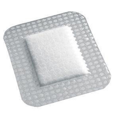 OpSite Post Op Transparent Film Dressing with Pad, Rectangle 10 x 4 in 3 Tab Delivery Without Label Sterile