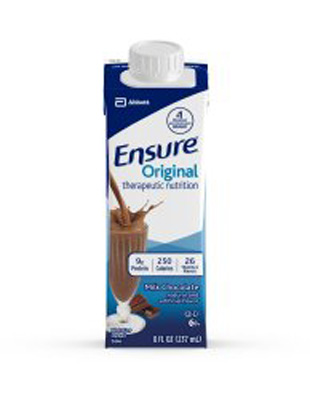 Oral Supplement Ensure Chocolate 8 oz. Recloseable Tetra Carton Ready to Use