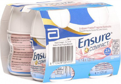 Oral Supplement Ensure Compact TN Milk Chocolate 4 oz. Bottle Ready to Use