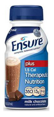 Oral Supplement Ensure Plus Chocolate 32 oz. Bottle Ready to Use