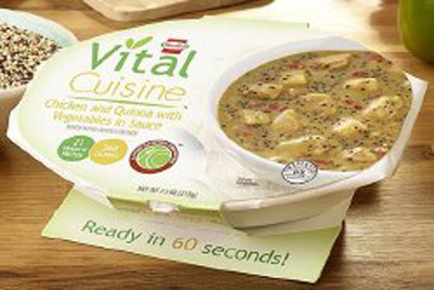 Oral Supplement Hormel Vital Cuisine Chicken and Quinoa with Vegetables 7.5 oz. Bowl Ready to Use