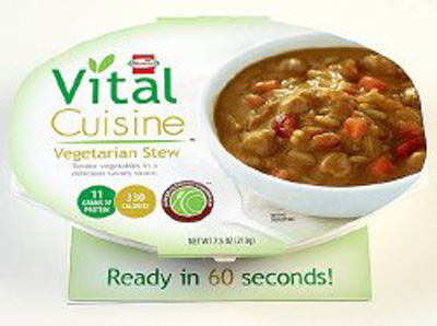 Oral Supplement Hormel Vital Cuisine Vegetarian Stew 7.5 oz. Bowl Ready to Use